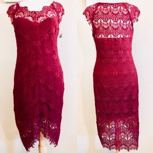 Red Lace Dress Free People